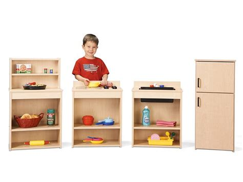 preschool kitchen furniture all time play kitchen sets options preschool daycare furniture worthington direct