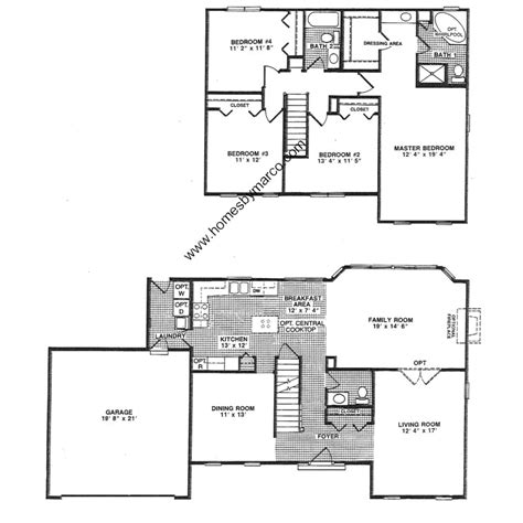 westport homes floor plans westport model in the westgate subdivision in gurnee