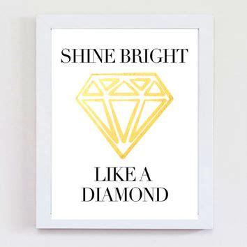 the prints world shine bright like a diamond art prints chicstyledesigns on etsy on wanelo