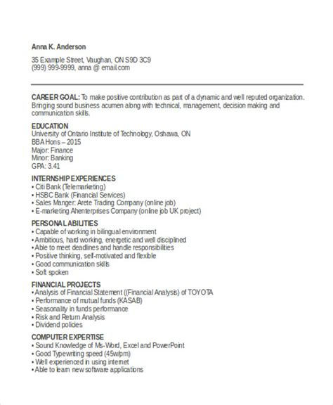 resume format for fresher graduate pdf 13 simple fresher resume templates pdf doc free
