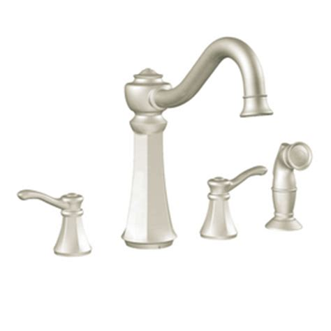 moen vestige kitchen faucet shop moen vestige stainless steel high arc kitchen faucet