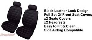 Luxury Car Seat Covers Uk Selection Of Front Universal Luxury Car Seat Covers Set Of 2