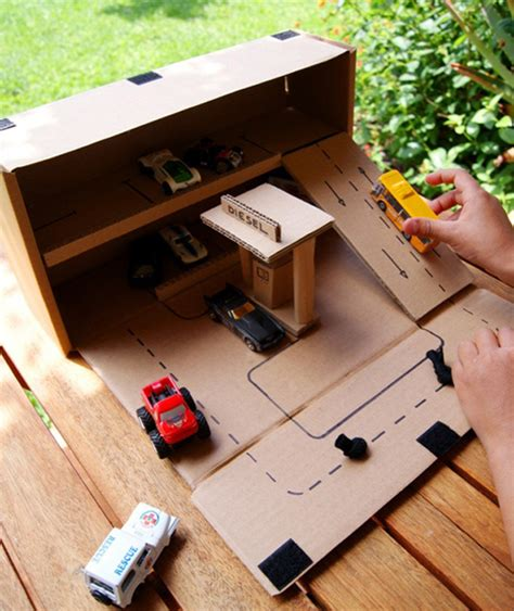 large garages let us create your next garage with lots 25 amazing diy cardboard toys for kids home design and