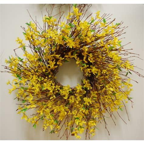 forsythia wreath tutorial forsythia wreath wreaths and easy forsythia wreath