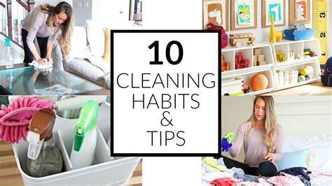 cleaning habits 10 minimalist cleaning habits for a clean home clean