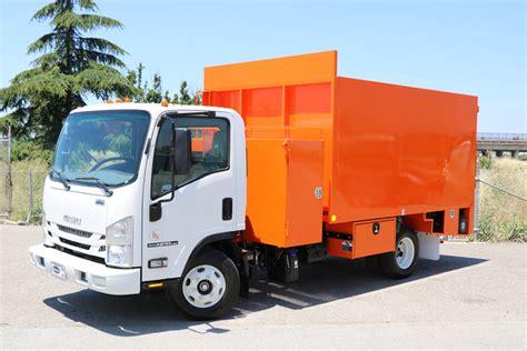 2019 Isuzu Truck by 2019 Isuzu Npr Hd Dump Monarch Truck