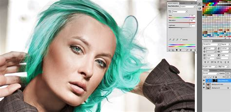 adobe photoshop hair tutorial how to change hair color in photoshop