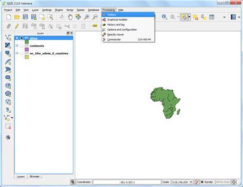 qgis processing tutorial elaborazioni batch usando il processing framework qgis