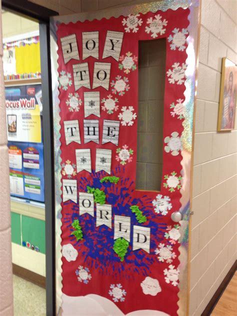 christmas decoration design world class to the world classroom door decorations creative classroom classroom