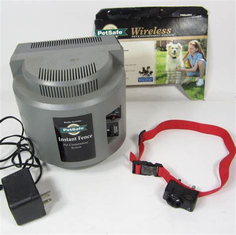boundary collar petsafe if 100 wireless pet containment system w collar boundary ebay