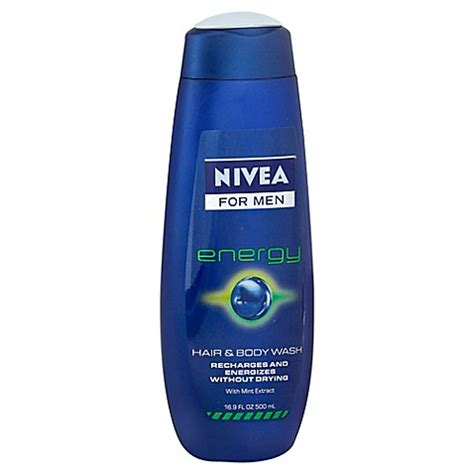 bed body and beyond nivea 174 men 16 9 oz 3 in 1 body wash in energy bed bath beyond