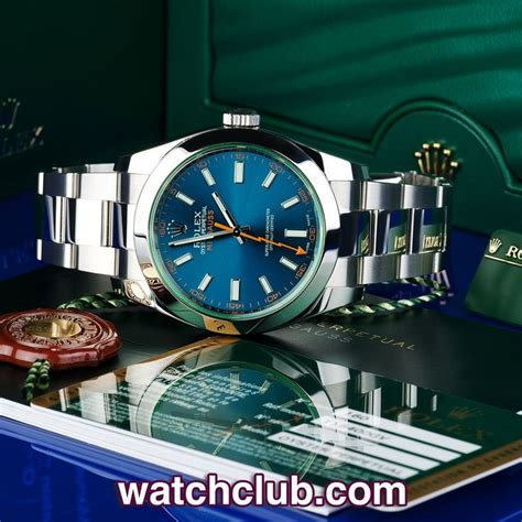 Ultimate Replica Rolex Milgauss Blue Electric rolex milgauss blue