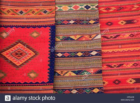 oaxaca rug traditional woven rugs oaxaca city oaxaca mexico stock photo royalty free image