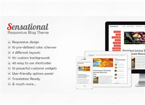 sensational theme showcase of wonderful responsive wordpress themes