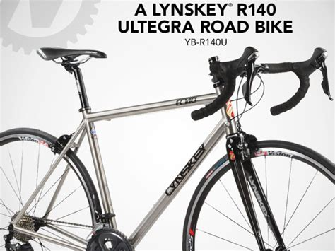 Cycling Sweepstakes - the nashbar lynskey r140 ultegra road bike giveaway