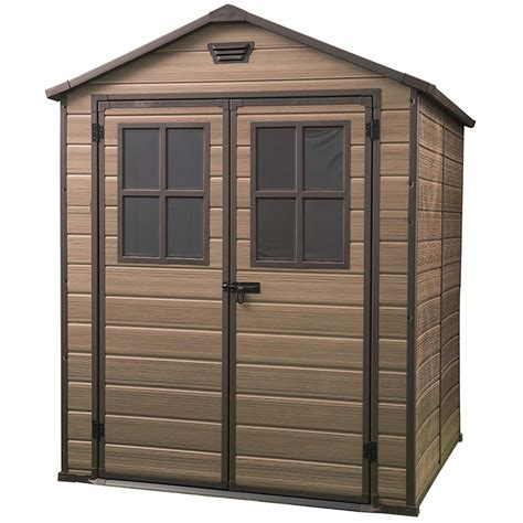 Keter Brown Plastic Shed