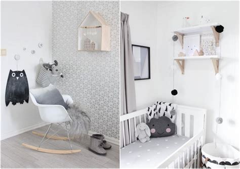suspension chambre bébé fille etagere decoratif blanc