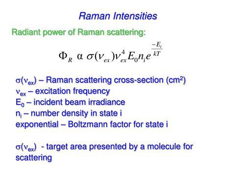 raman scattering cross section ppt raman spectroscopy powerpoint presentation id 569972