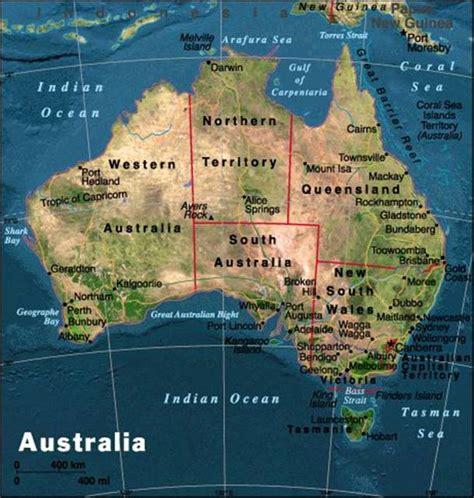 australia satellite map maps satellite map of australia