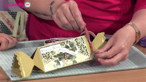 How To Make A Paper Tv - how to make a paper cracker docrafts