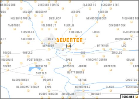 deventer netherlands map deventer netherlands map nona net