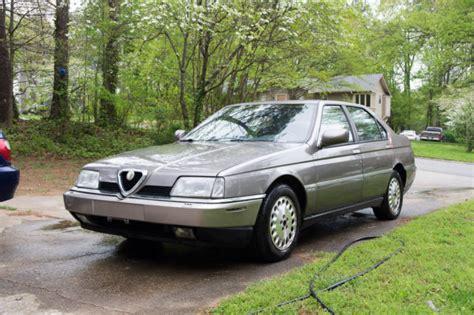 alfa romeo 4 door sedan 1994 alfa romeo 164 ls sedan 4 door 3 0l classic alfa