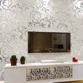 wallpaper dinding tembok 4 wallpaper dinding motif floral classic european style