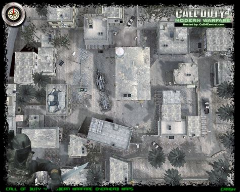 call of duty 4 maps cod4 central cod4 maps crash high resolution modern warfare remastered