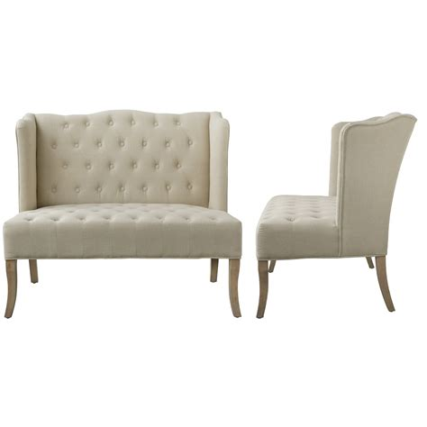 ab home tufted upholstered loveseat reviews wayfair