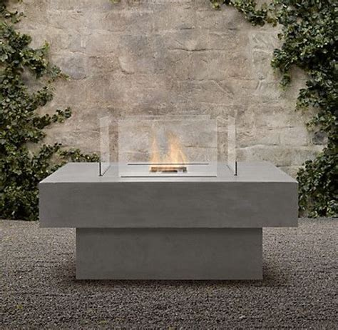 Restoration Hardware Firepit Modern Pit Restoration Hardware Firepits Outdoor Fireplaces