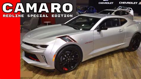 chevy camaro special editions 2017 chevy camaro redline special edition at chicago auto
