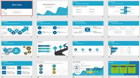 project template ppt power point templates icons infographics