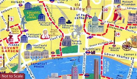 London Map Adventure Walks Stanfords