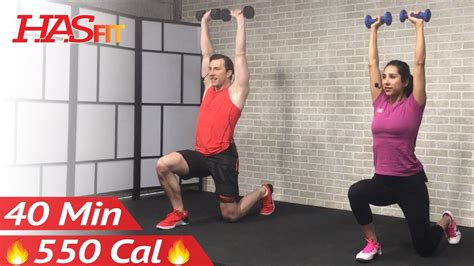 40 min tabata hiit workout with weights abs