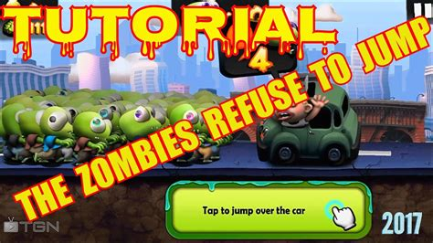 zombie network tutorial zombie tsunami tutorial tap to jump over the car the