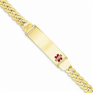 Kitchen Design Software Reviews brilliant embers 14k yellow gold medical alert id bracelet