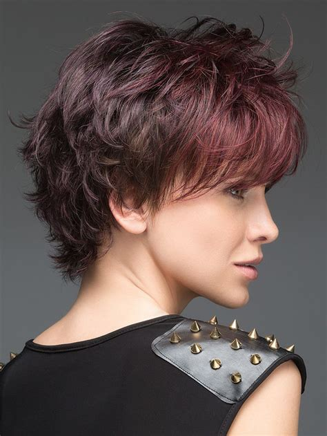 burgundy highlights on shag haircuts 7848 best images about haircuts style and color on