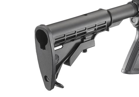 Mba 3 Stock On Ruger Ar 556 by Ruger 174 Ar 556 174 Standard Autoloading Rifle Models