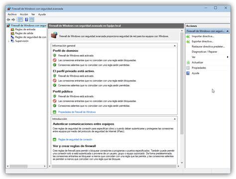 libro cmo configurar fotografa de c 243 mo configurar el firewall de windows 8 1 y windows 10