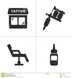tattoo icons stock vector image 54857049