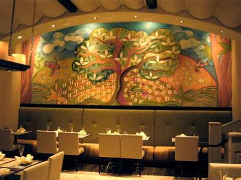 Mural Painting On Wall aurelio grisanty