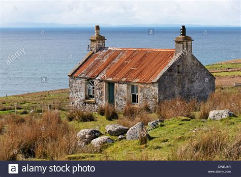 houses to buy scotland old croft house at melvaig near gairloch wester ross highland stock photo royalty