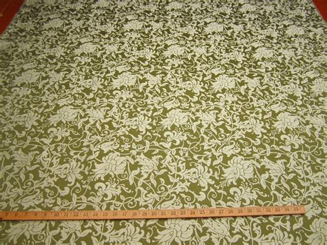Upholstery Fabric Dye by Ft115 Minuet Floral Scroll Jacquard Upholstery Fabric