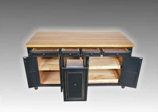 6 ft distressed black kitchen island maple butcher block 52 kitchen island maple wood butcher block counter top w