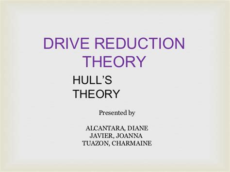 drive reduction theory adalah drive reduction theory rep