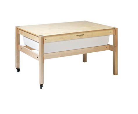 sand table with cover childcraft sand and water table with cover white tub 42