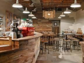 Recycled Countertop Materials seattle s 15th ave coffee and tea house is a rustic eco