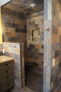 Bathroom With Open Shower Open Shower Bathroom Remodel