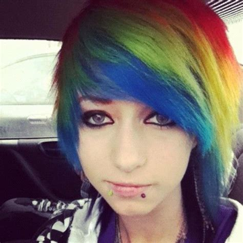 dyed emo hairstyles what if i dyed my hair like this after it grows back out