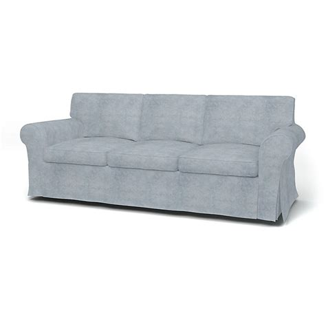 ektorp 3 seater sofa bed cover with piping bemz